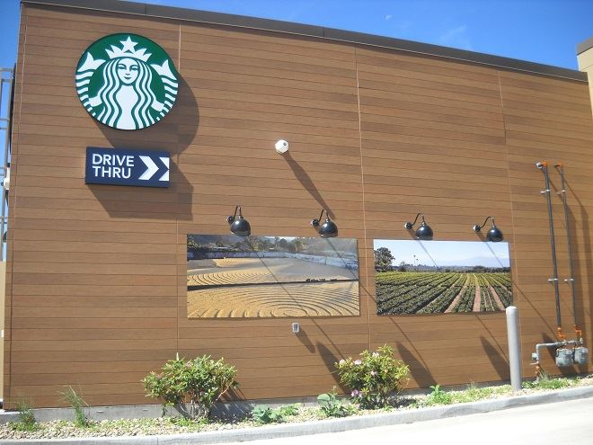 Nichiha Provides Unique Design Aesthetic for New Starbucks Store