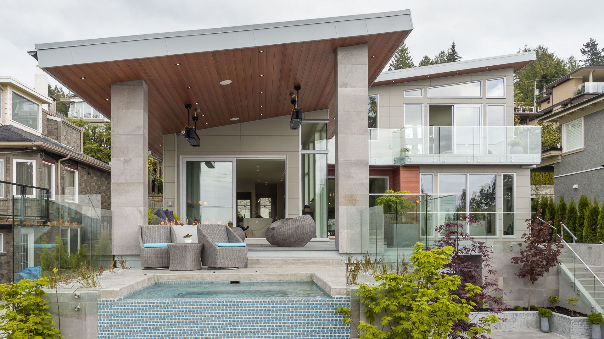 Modern Custom Home Siding Trends | Nichiha USA - Fiber ... on Modern Siding  id=13292