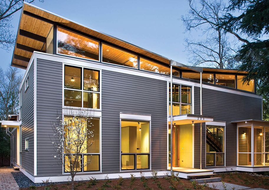 Modern Custom Home Siding Trends | Nichiha USA - Fiber ...