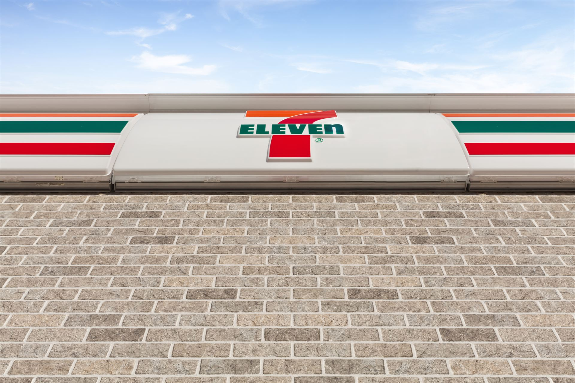 Exterior of 7-11 store featuring CanyonBrick